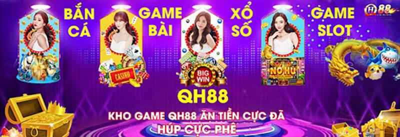 Anh 3 Kho game QH88 choi game an tien that cuc chat   qh88
