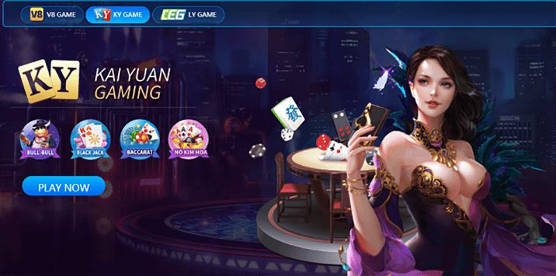 Giao dien game bai casino game bai 3D cua QH88   qh88
