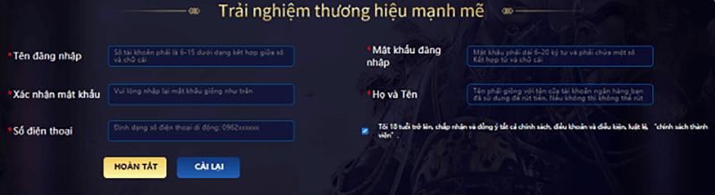 Huong dan dang ky tai khoan tai QH88 da ga online   qh88