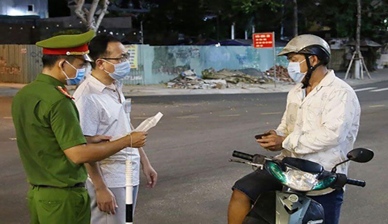 TP Đà Nẵng Cấp giấy đi đường cho người dân 1 chiêu thật sự linh hoạt