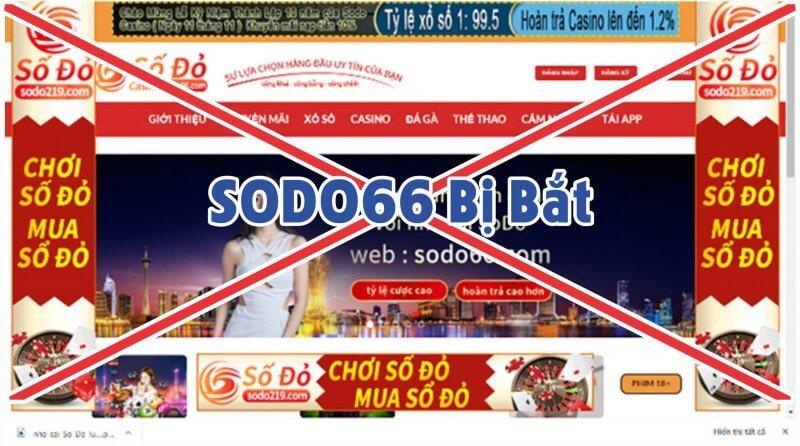 SODO66 bị bắt