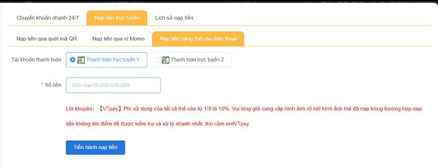 Nap tien bang the cao dien thoai | qh88
