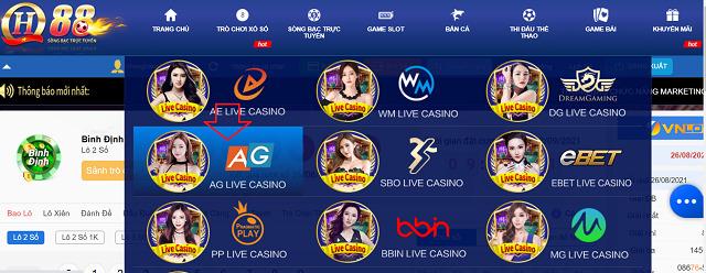 tham gia vao sanh ag casino | qh88