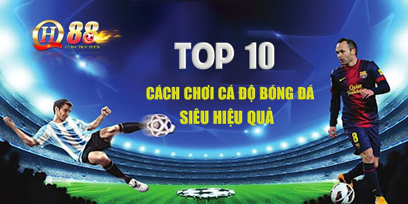 Top 10 cách chơi cá độ bóng đá siêu hiệu quả
